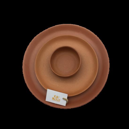 Dinner Set - Dinner plate, quarter plate and a bowl