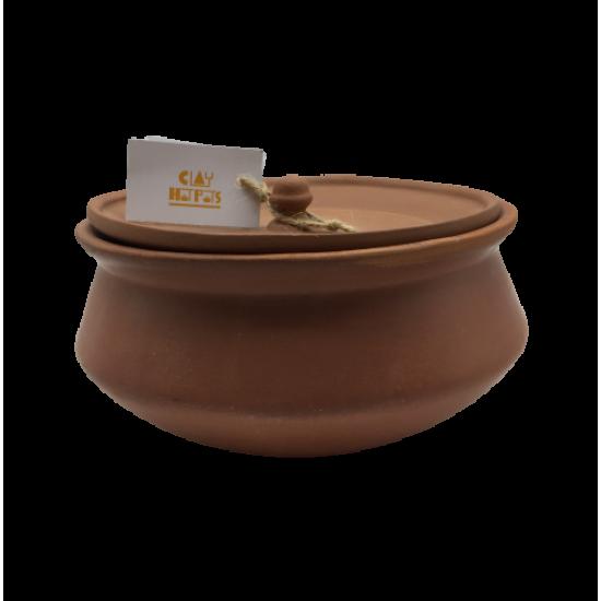 Degchi - Clay pot with flat lid